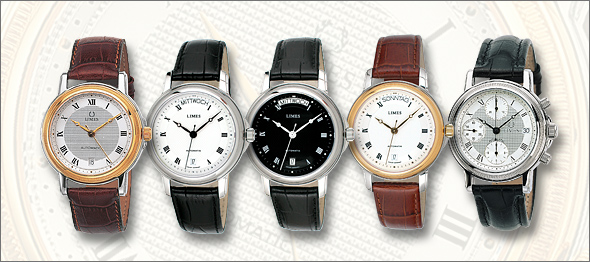Special offers of automatic LIMES watches
