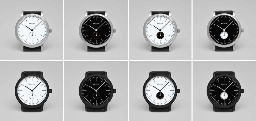 Minimal Watch Defakto Struktur Collection