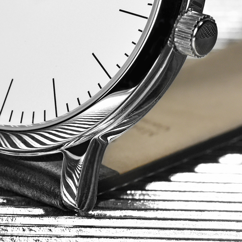 Defakto Dialog Puristic minimal design bauhaus watch