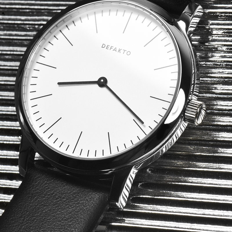 Defakto Watches Dialog, Minimal Design watches made in Germany Ickler Gmbh